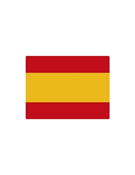 Spanish flag sticker small size