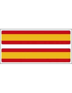 Pegatina Tira de España