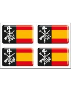 Spanish Legion Flag Pack of Stickers