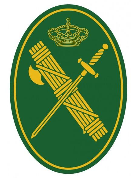Pegatina Guardia Civil Mediana Ovalada
