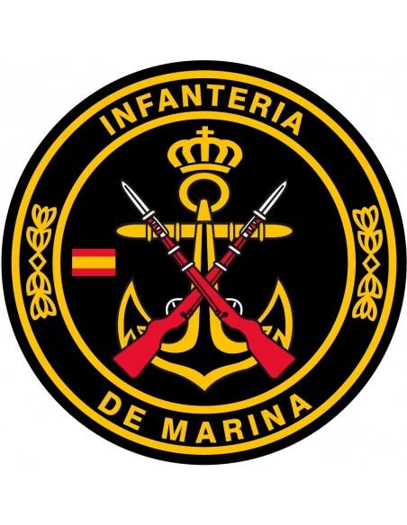 Pegatina Infantería de Marina Mediana
