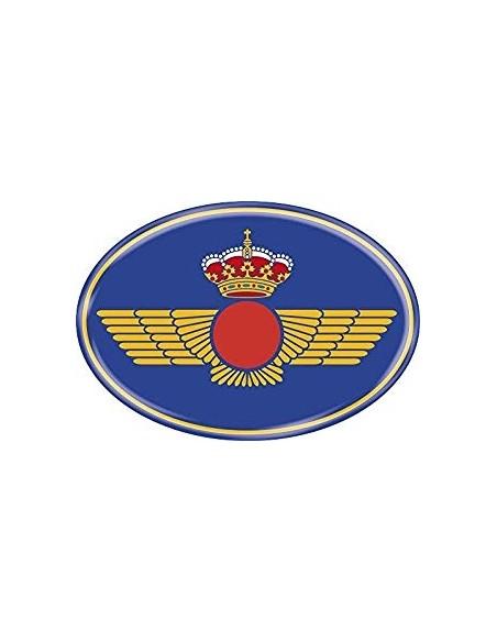Pegatina Ejército Aire Ovalada