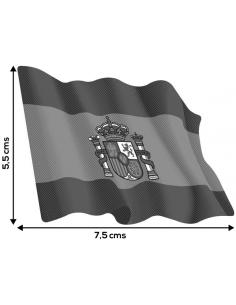 Spanish Waving Flag Sticker - Madium