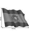 Pegatina Bandera España Actual Ondeante Grande