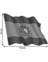 Spanish Waving Flag Sticker - Large
