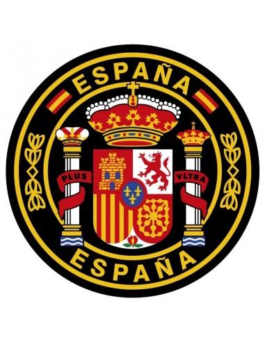 Pegatina con el Escudo de España