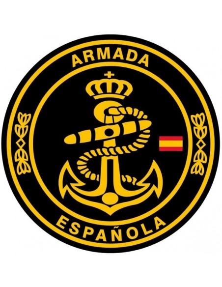 Pegatina Armada Española Mediana