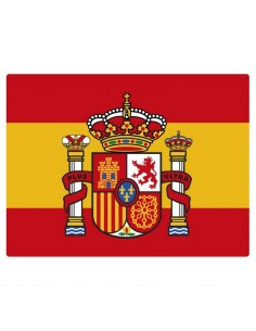 Current Spanish flag sticker