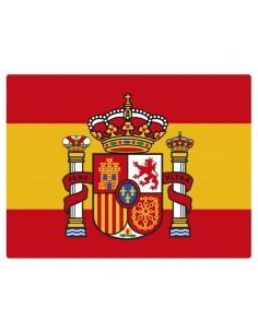 Current Spanish flag sticker