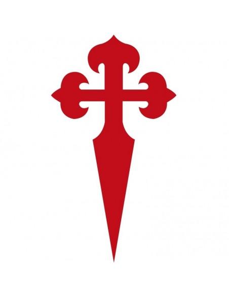 Santiago's cross sticker