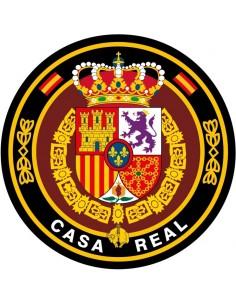 Pegatina Casa Real con el Escudo de Felipe VI Grande