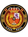 Pegatina Casa Real con el Escudo de Felipe VI