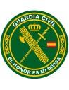 Pegatina Redonda Guardia Civil Pequeña
