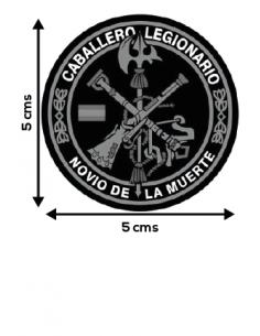 Pegatina de la Legión Española Redonda