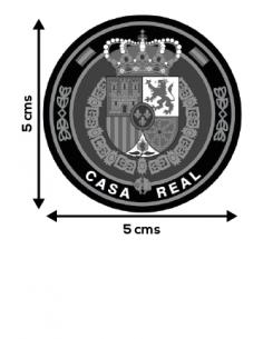 Spanish Royal House Rounded Sticker
