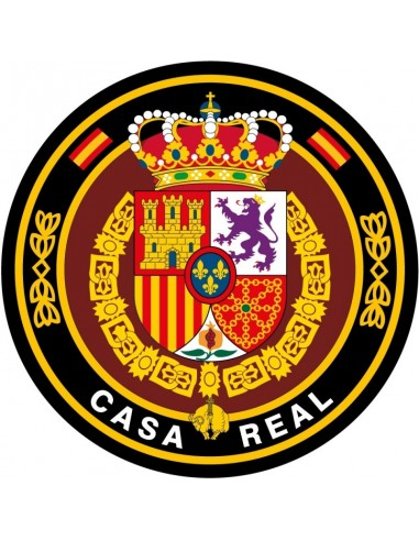 Spanish Royal House Rounded Sticker