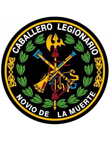 Sticker 8 cm Oval Legion
