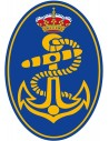 Pegatina Armada Española Ovalada con Volumen