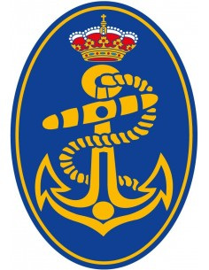 The Spanish Navy Sticker Oval