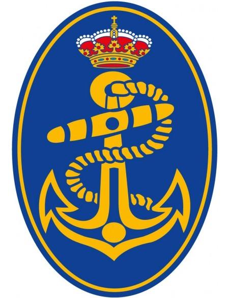 Pegatina Armada Española Ovalada
