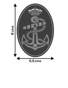 Spanish Armada Oval Sticker
