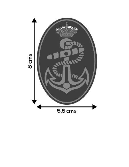 Pegatina Armada Mediana Ovalada