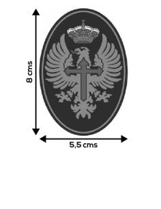 Pegatina Ejército de Tierra Mediana Ovalada