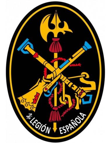 Spanish Legion Oval Sticker