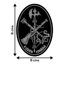 Spanish Legion Oval Sticker
