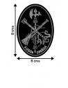 Pegatina Legión Ovalada con Escudo en Color