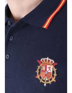 Polo Escudo Casa Real Para Hombre