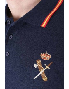 Polo Guardia Civil Para Hombre