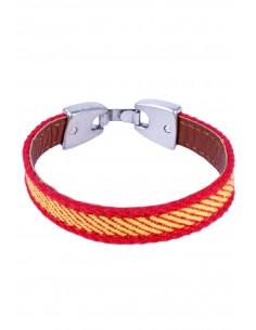 Bracelet Canvas Flag Spain