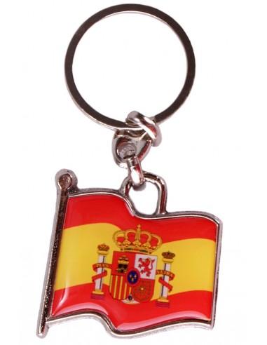 Spanish Waving Flag Key Ring