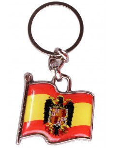 San Juan Eagle Flag Key Ring