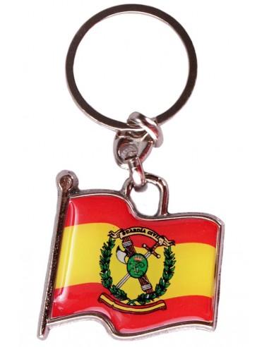 Spanish Civil Guard Flag Key ring