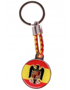 Eagle Round Key Ring