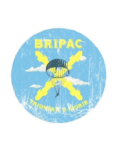 """Bripac mouse pad with the legend """"Triumph or Die"""""""