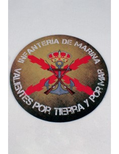 "Marine Infantry Mouse Pad ""Brave for Land and Sea"""
