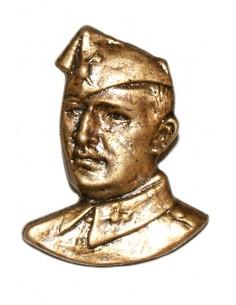 Pin Bust Franco in bronze