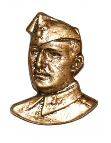 Pin Busto Franco en Bronce