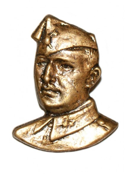 Pin Bust Franco in bronze