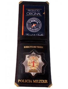 Cartera Identificativa de Policia Militar del Ejercito de Tierra