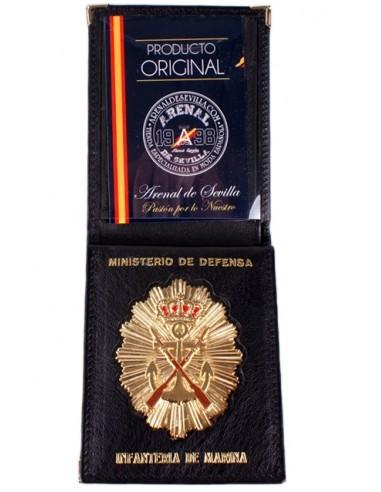 Cartera Identificativa del Ministerio de Defensa- Infanteria de Marina