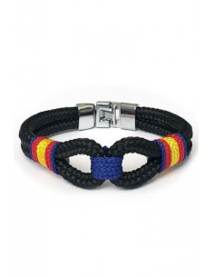 Marinera Blue Flag Bracelet with Spain