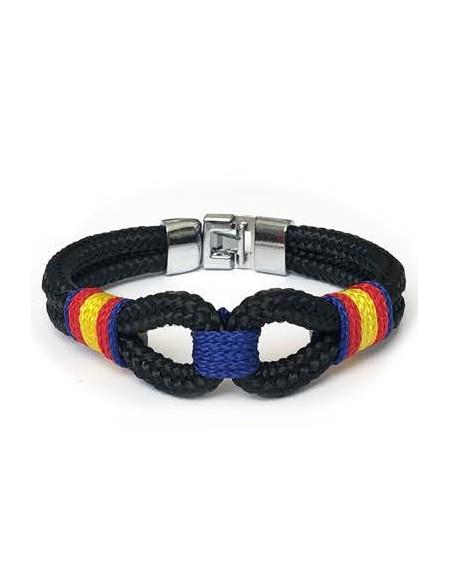 Marinera Blue Flag Bracelet with Spain