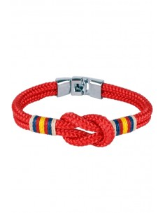 Marinera red Flag Bracelet with Spain