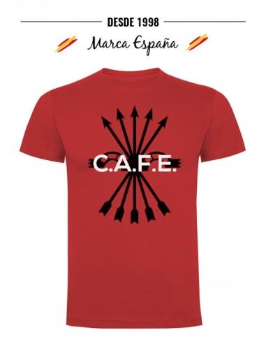 Camiseta de la Falange- Café