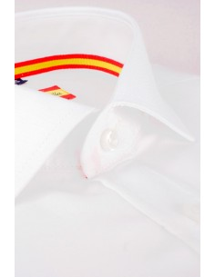 Dress Shirt White Flag Spain