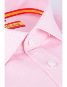 Dress Shirt Pink Flag Spain